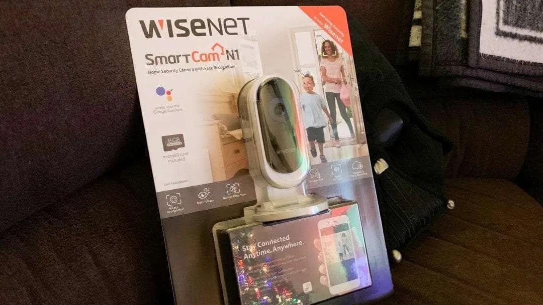 Wisenet SmartCam N1 WiFi Security Camera REVIEW | Mac Sources