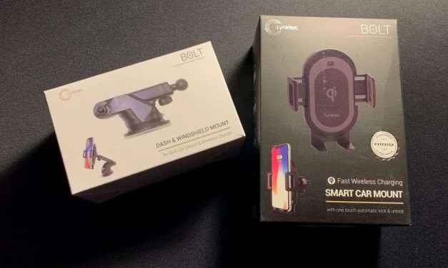 Lynktec Bolt Smart Car Mount and Wireless Charger REVIEW