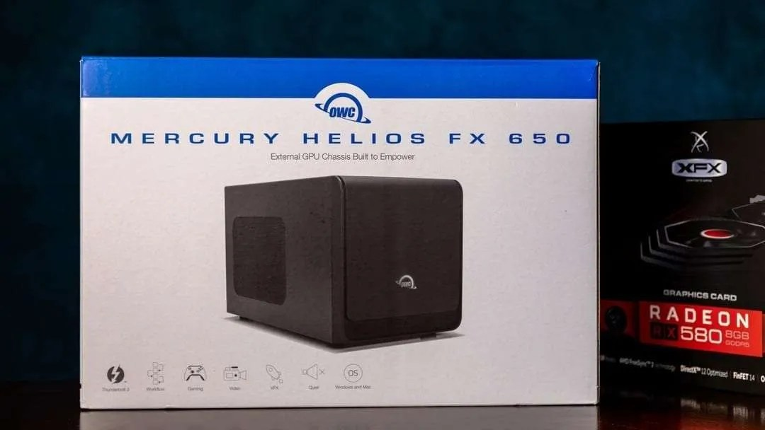 OWC Mercury Helios FX 650 eGPU Chassis REVIEW