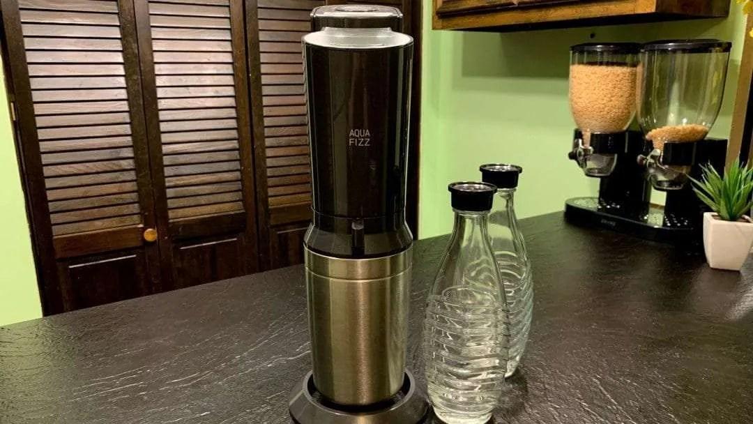 SodaStream Aqua Fizz Sparkling Water Maker REVIEW