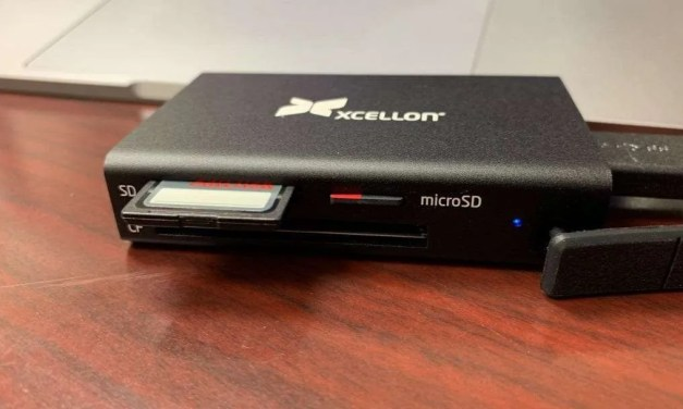 XCELLON CR-M10 Multi-Card Reader REVIEW