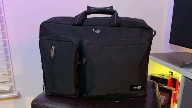 Solo Duane Hybrid Briefcase Backpack Review Macsources