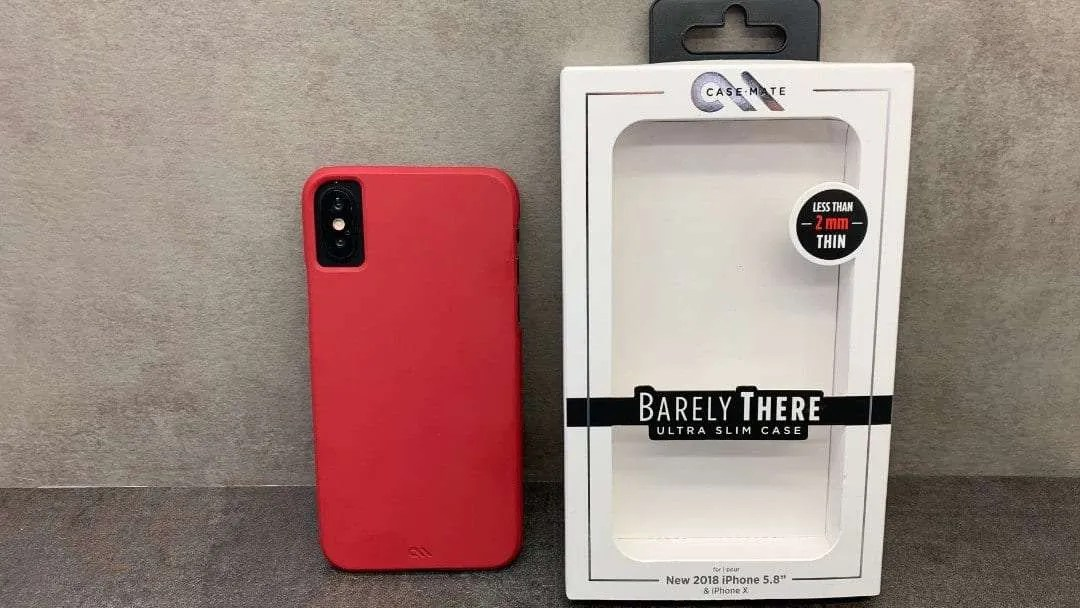 cheaper c8d0b f4cc2 Case-Mate Barely There iPhone X and XS Case REVIEW Attractive and ...