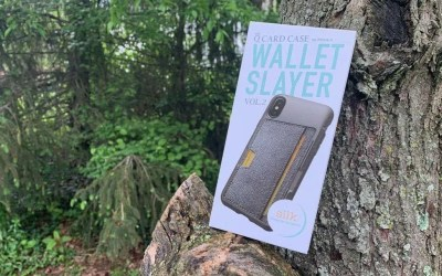 Silk Q Card iPhone X Case REVIEW Grab and Go