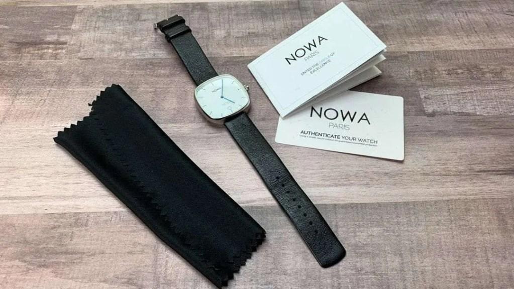 NOWA SUPERBE Classic Black Hybrid Watch REVIEW