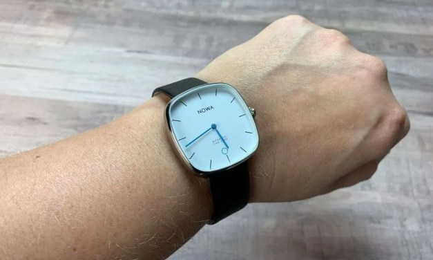 NOWA SUPERBE Classic Black Hybrid Watch REVIEW