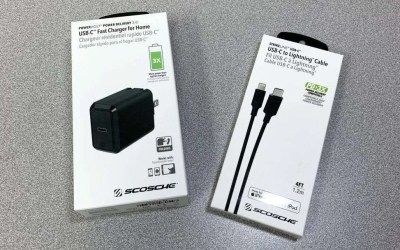 Scosche StrikeLine USB-C to Lightning Cable and PowerVOLT USB-C Fast Charger REVIEW
