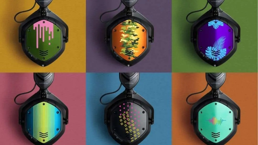 V-MODA Offers New Color Printed Customization for Headphones NEWS