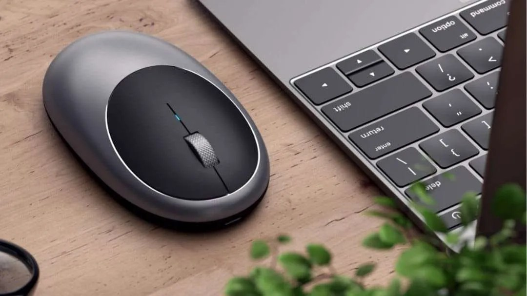 aa8c6532edb Satechi Launches New Rechargeable USB-C Aluminum M1 Bluetooth Mouse NEWS