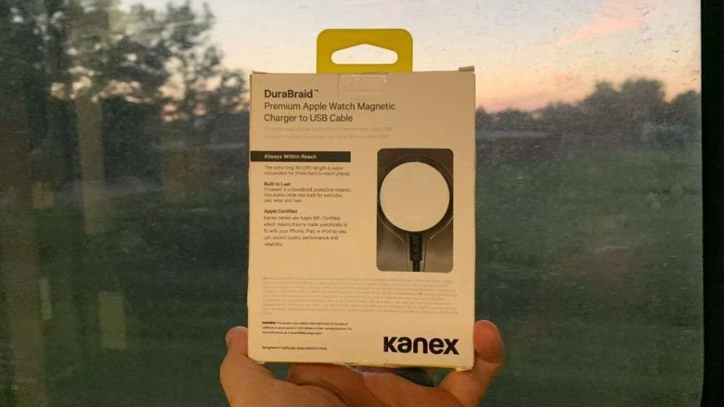 Kanex DuraBraid Apple Watch Charger REVIEW