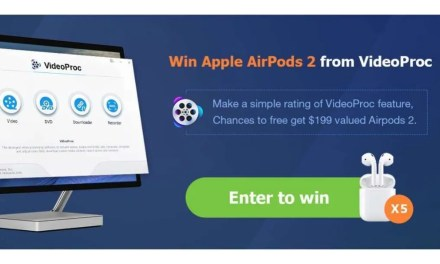 Get VideoProc for Free- Best 4K Video Editor for Mac (Chance to Win AirPods 2)