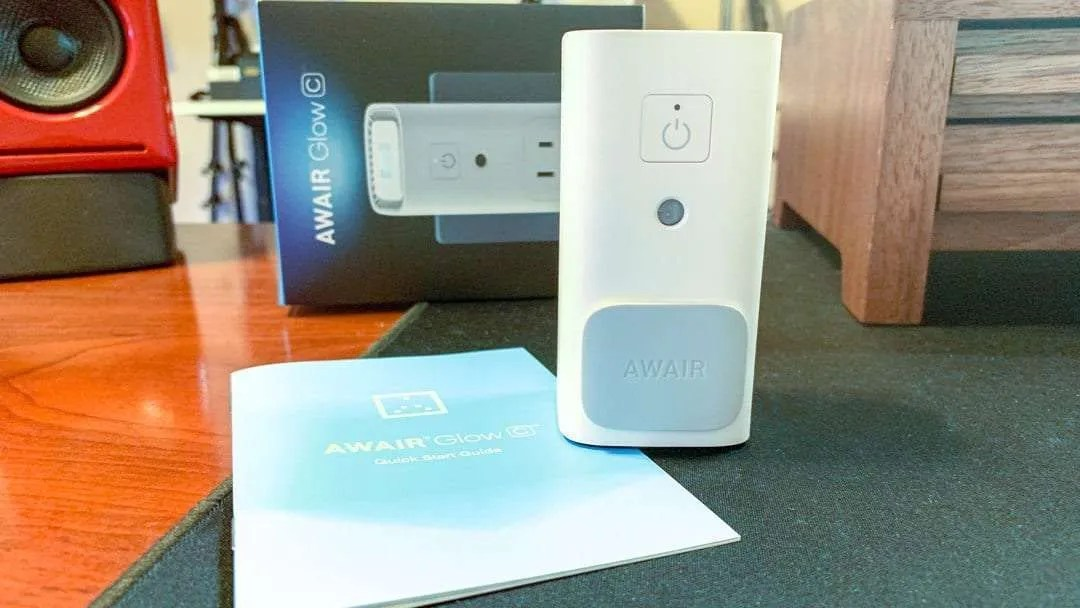 AWAIR Glow C Air Quality Monitor REVIEW
