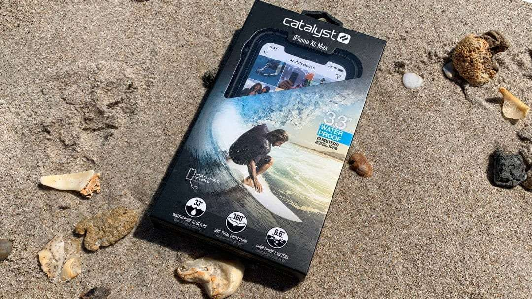 buy popular 9c1d3 515f2 Catalyst Waterproof iPhone Xs Max Case REVIEW Be Prepared   Mac Sources