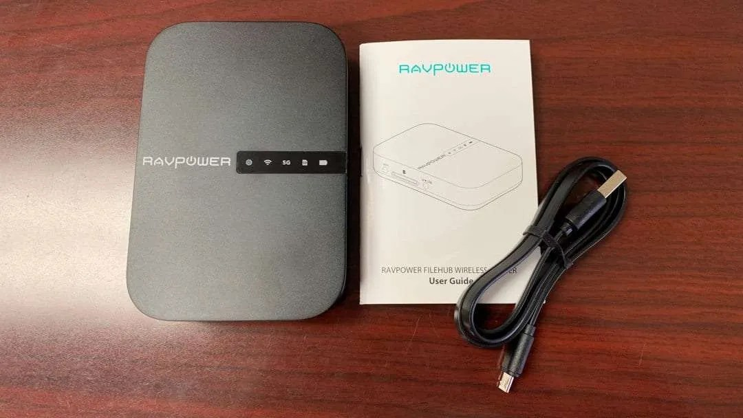 RAVPower AC750 FileHub and Wireless Travel Router REVIEW