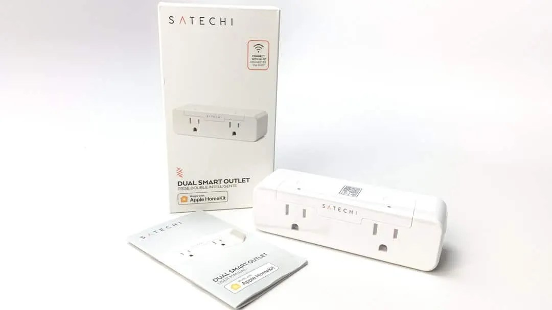 Satechi Dual Smart Outlet with HomeKit REVIEW