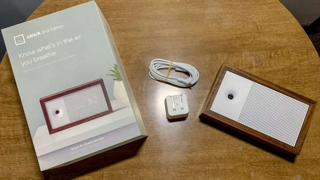 AWAIR 2nd Edition Air Quality Monitor REVIEW