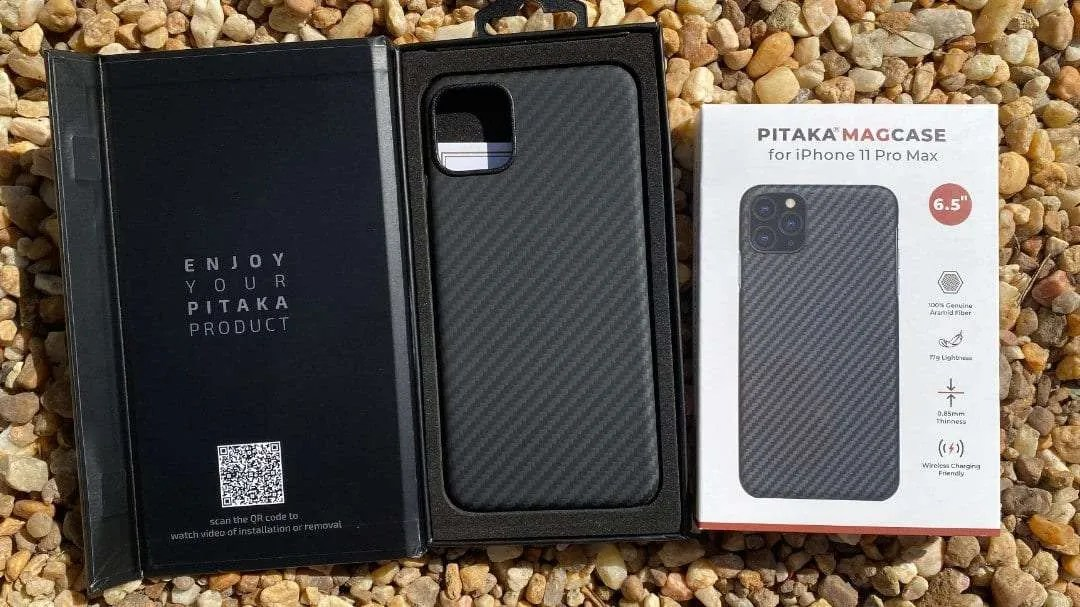 PITAKA MAGCASE iPhone 11 Pro Max REVIEW Roadtrip case