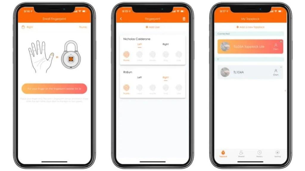 Tapplock Lite Smart Fingerprint Padlock REVIEW