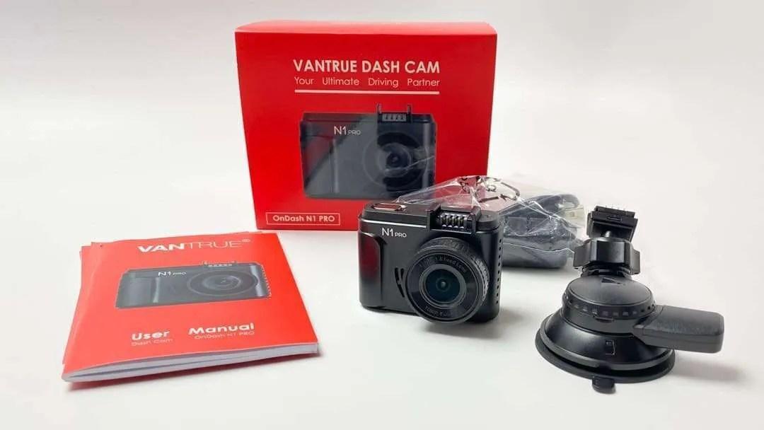Vantrue N1 Pro Dash Cam REVIEW