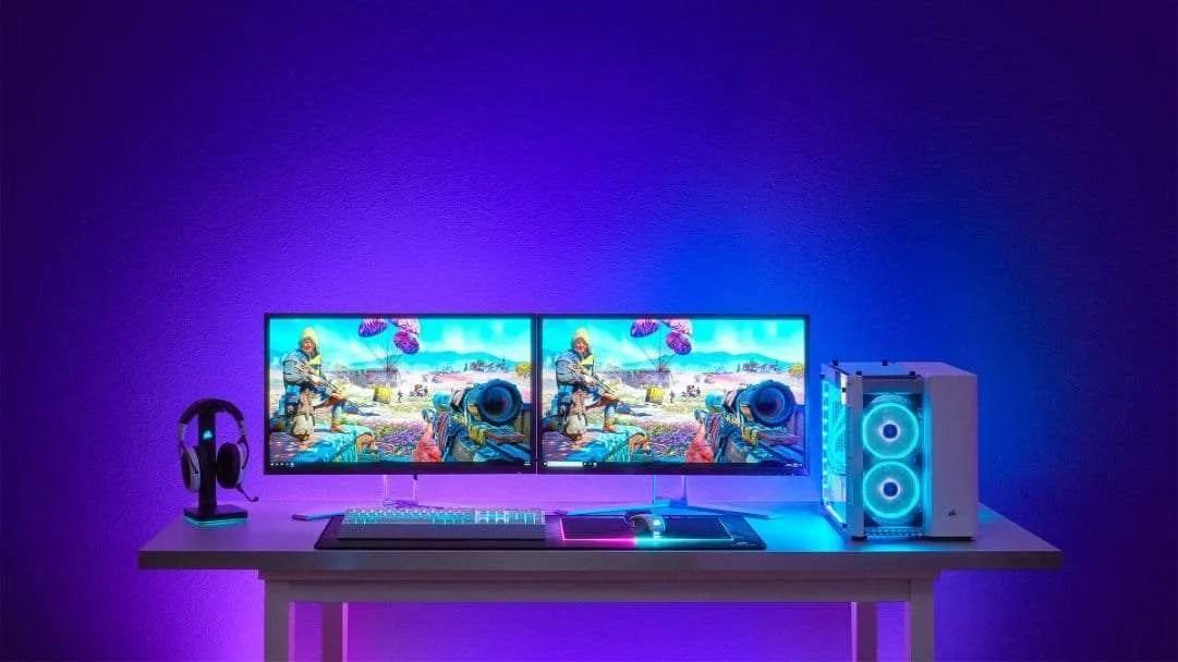 CORSAIR Debuts New Immersive Desktop Ambient Lighting System NEWS