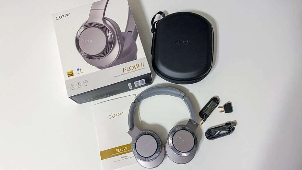 CLEER Flow II Wireless Hybrid Noise Canceling Headphones REVIEW