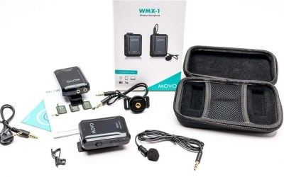 Movo WMX-1 2.4GHz Wireless Lavalier Microphone System REVIEW
