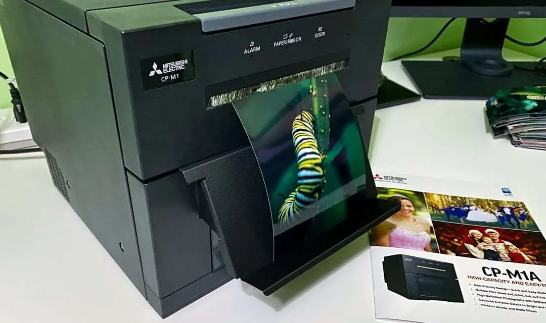 Mitsubishi CP-M1A High Capacity Photo Printer REVIEW