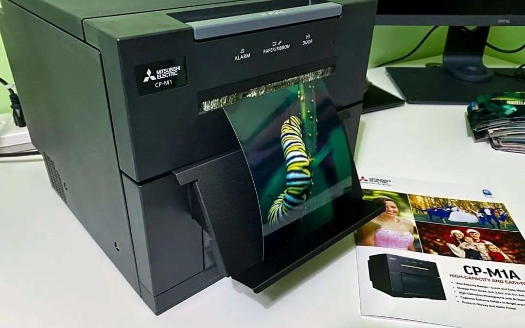 Mitsubishi CP-M1A High Capacity Photo Printer REVIEW
