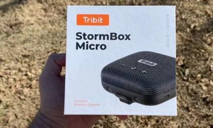 Tribit Stormbox micro bluetooth speaker review