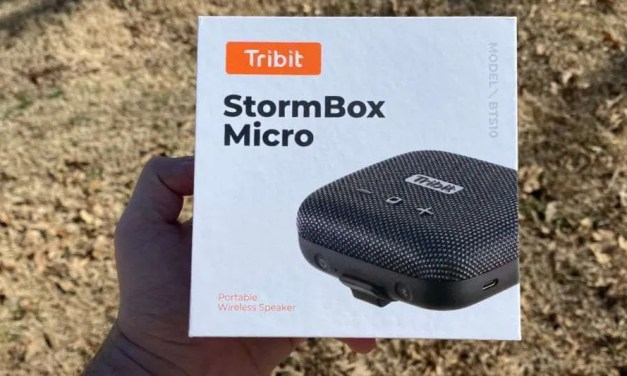Tribit Stormbox micro bluetooth speaker review