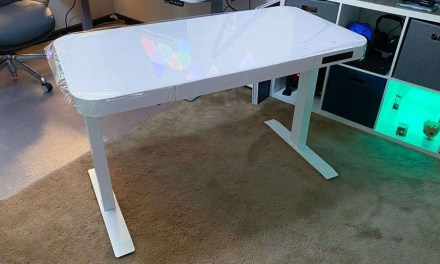 Seville Classics AIRLIFT Tempered Glass Electric Standing Desk REVIEW