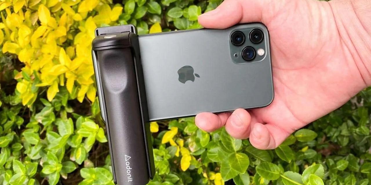 Adonit V-Grip Selfie stick for smartphones review