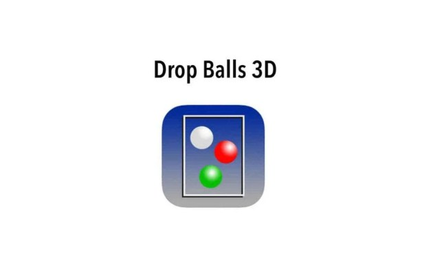 Drop Balls 3D iOS Game REVIEW