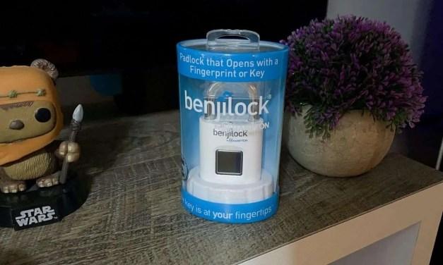BenjiLock by Hampton 43mm Fingerprint padlock review