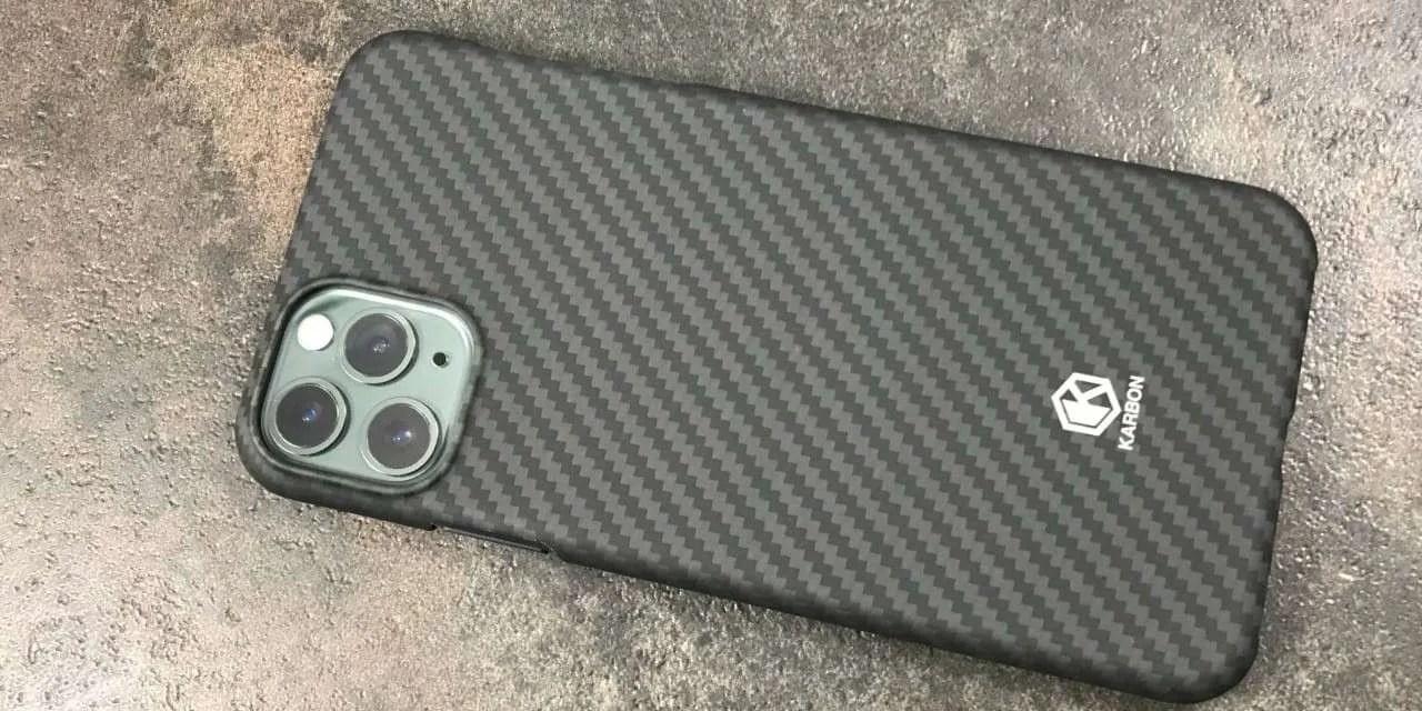 Evutec KarBON iphone 11 Pro max Case review
