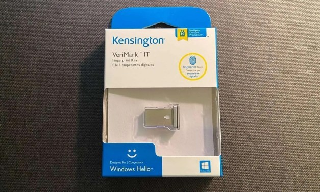 Kensington VeriMark IT Fingerprint Key REVIEW