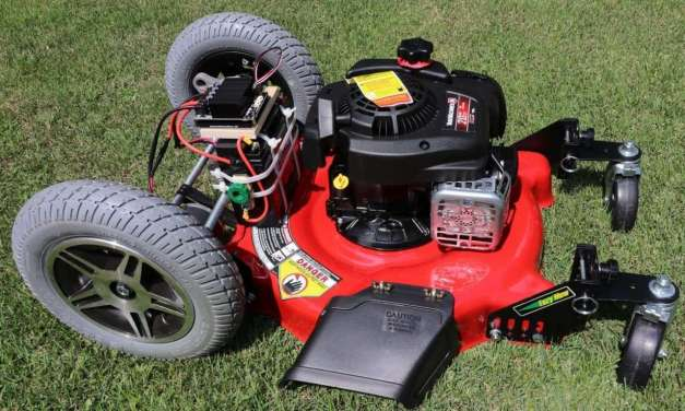 How to Build a remote controlled Lawnmower NEVER PUSH A MOWER AGAIN