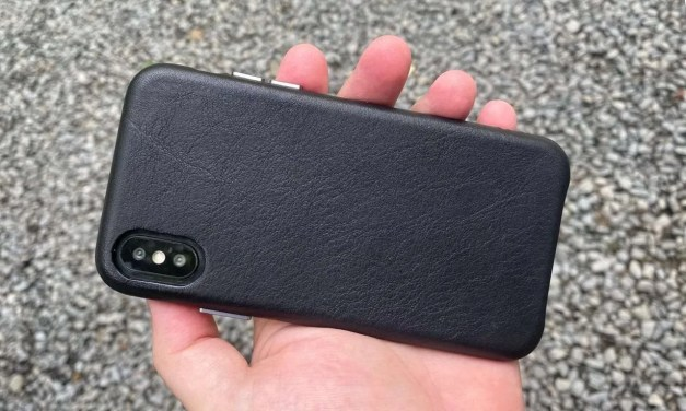SENA iPhone X/XS Leather Case REVIEW