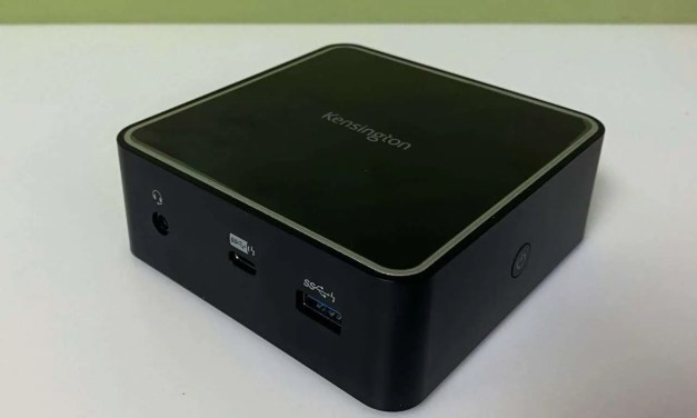 Kensington SD2400T Thunderbolt 3 Nano Dock with power delivery review
