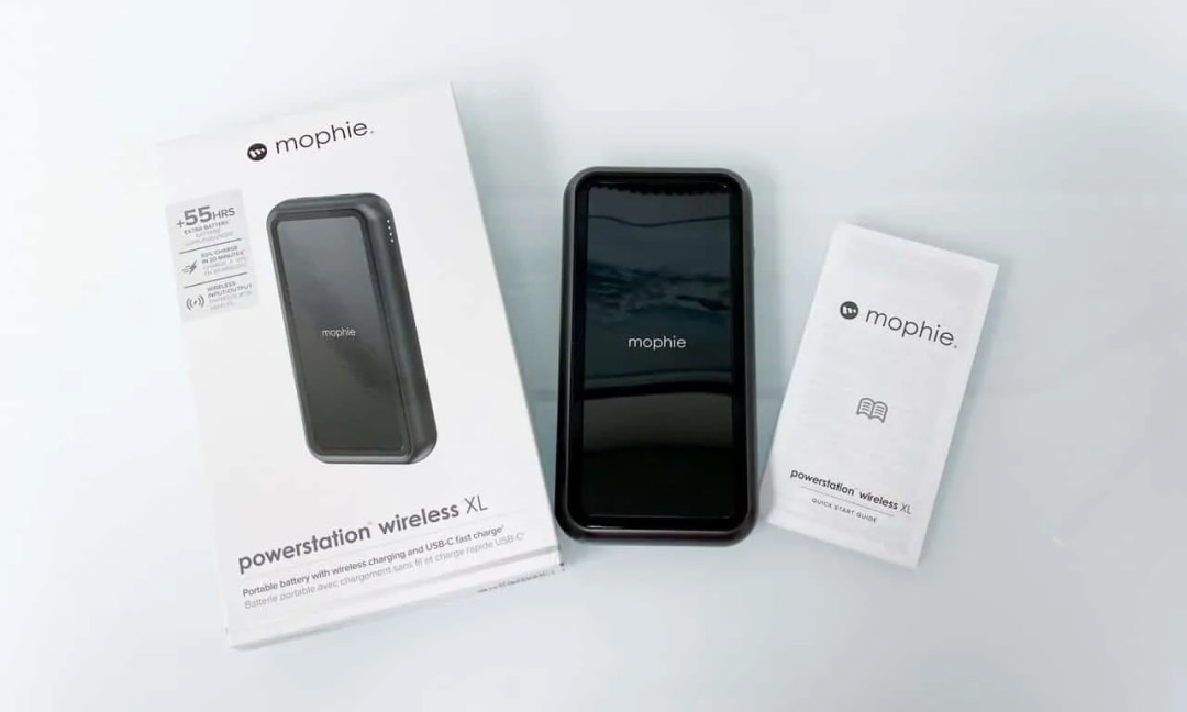 MOPHIE POWERSTATION WIRELESS XL REVIEW