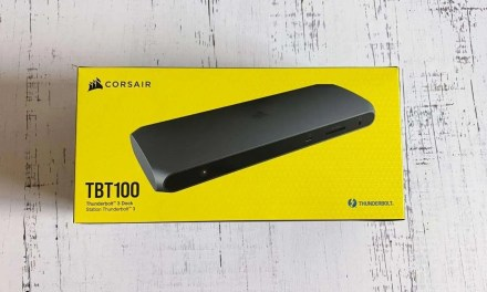 Corsair TBT100 Thunderbolt 3 Docking Station REVIEW