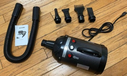 AIIYME Adjustable Speed Dog Grooming Dryer REVIEW