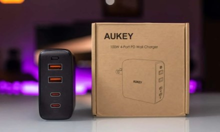 AUKEY 100W 4-Port PD Wall Charger REVIEW