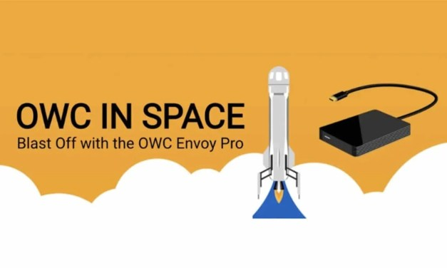 OWC Blasts User Content to Space with Blue Origin NEWS