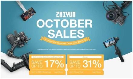 ZHIYUN Unveils Best Gimbal Discounts on 2020 Amazon Prime Day NEWS