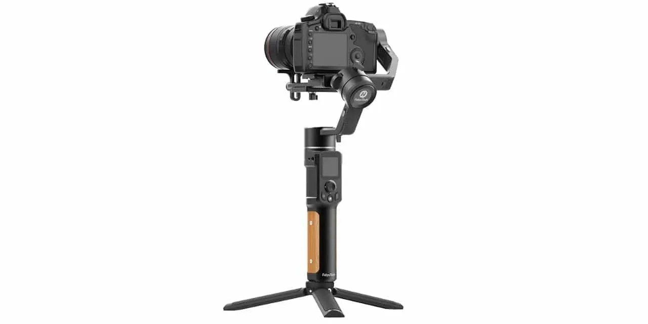 FEIYUTECH AK2000C LOW-COST PROFESSIONAL GIMBAL FOR DIGITAL CAMERAS NOW AVAILABLE FOR HOLIDAY GIFTS NEWS