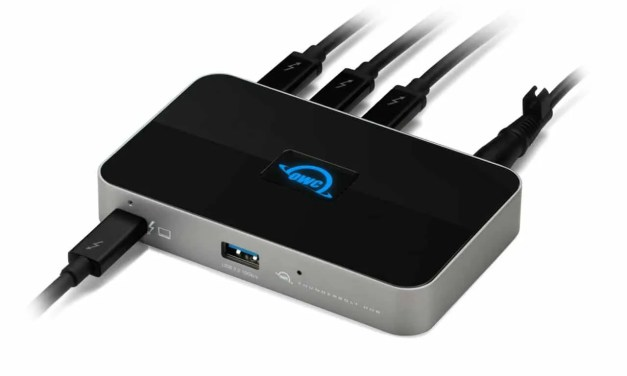 OWC Announces Mac Compatibility for New Thunderbolt Hub NEWS