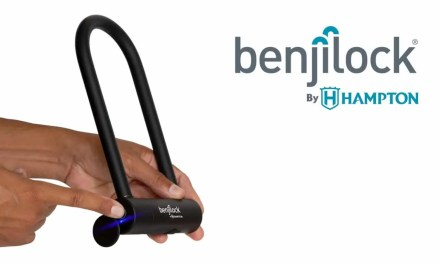 BenjiLock By Hampton® Fingerprint Bike Lock Enables Cyclists To Go Keyless NEWS