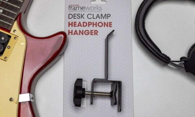 GATOR Frameworks Desk Clamp Headphone Hanger REVIEW