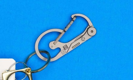 RovyVan Utility U4 Keychain Carabiner Knife REVIEW